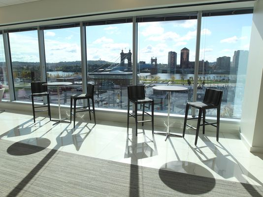 A look inside: GE's new office at The Banks has no offices