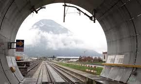 Gotthard Base Tunnel In The Alps Begins Passenger Service
