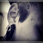 1611 random gothicgirl sidecut tattoo piercing eyeliner mua