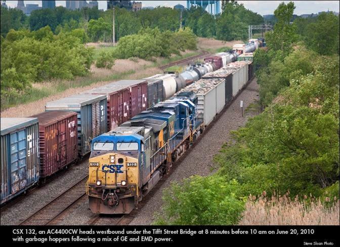 The CSX Railroad Must BE NIMBLE!