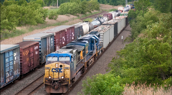 The CSX Railroad Must BE NIMBLE!