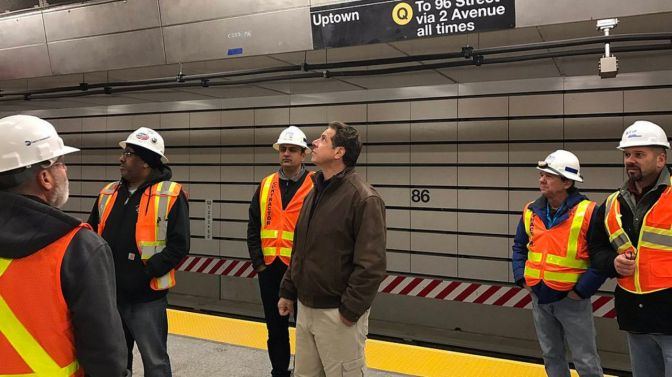 Now Governor Andrew Cuomo Says 2nd Avenue Subway Will Meet Deadline