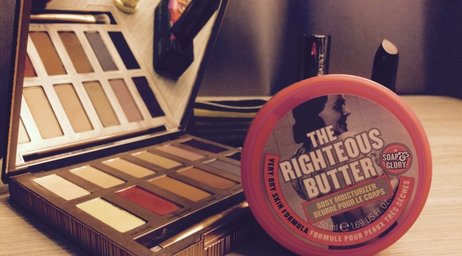 THE RIGHTEOUS BUTTER: SOAP & GLORY