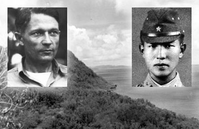 Left: RM1c George Ray Tweed Right: Sergeant Soichi Yokoi