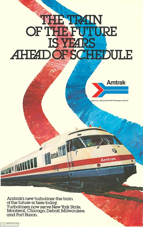 Old Pictures From An Early AMTRAK