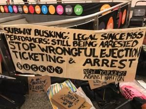 buskersprotest