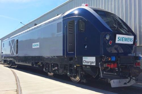"New AMTRAK ""Charger""Locomotives Testing on Cascades Route in Washington"