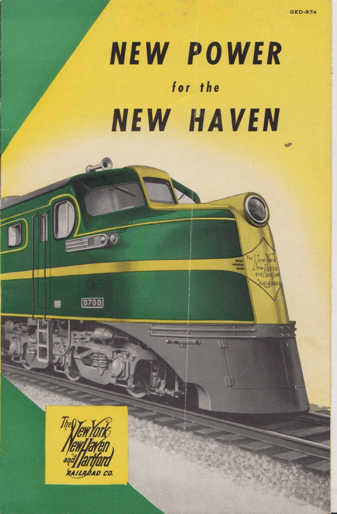 The New Haven Goes Diesel