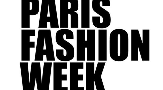 PARIS FASHION WEEK – A/W