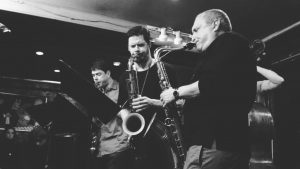 "George Garzone/Seamus Blake/Chris Cheek ""Have You Met Miss Jones"" live at Smalls Jazz Club 01/28/17"
