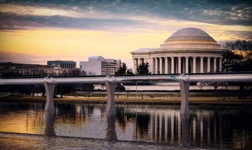 Hyperloop train RVA to DC