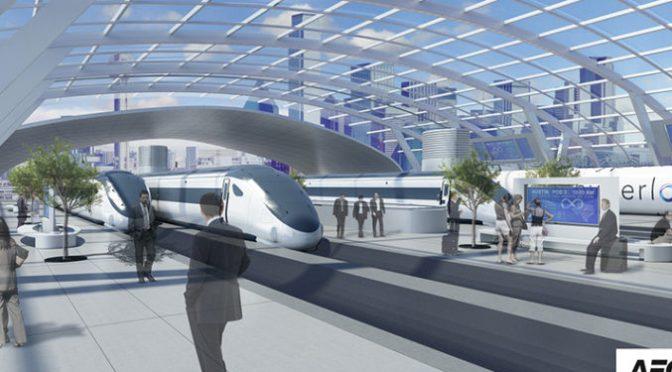 Hyperloop Trains Picking Up Steam