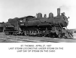 Last Steam on the New York Central