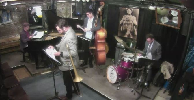 live broadcast @SmallsJazzClub ROBERT EDWARDS – AFTERNOON JAM SESSION