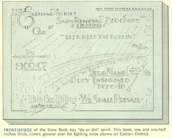 New York Central Snow Book