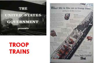 Troop Trains in American History