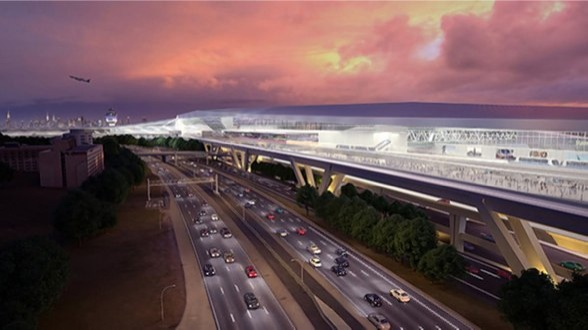 Firm hired to develop LaGuardia's AirTrain