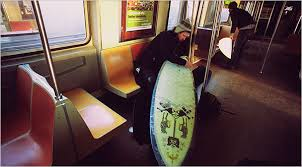 Southern California Metrolink Trains Now Allow Surfboards