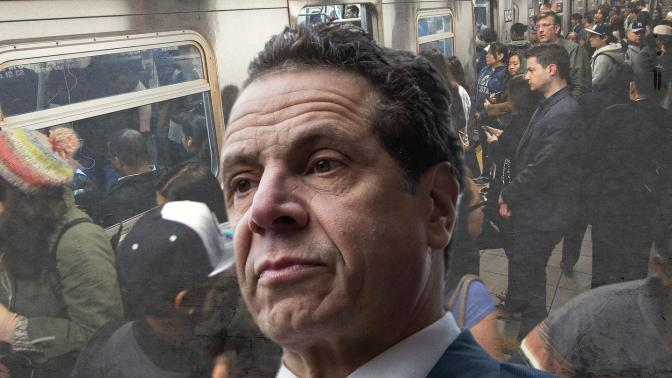 Andrew Cuomo Is Hiding from NYC's Subway Nightmare