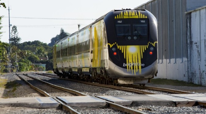 BRIGHTLINE Gives Show & Tell At Town Meeting