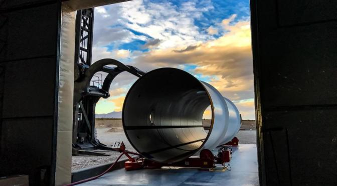 HYPERLOOP ONE Has An Aggresive European Schedule