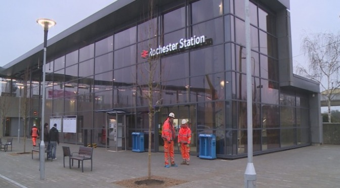 All aboard for the new Rochester train station