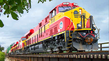 Florida East Coast Railway recognized for service quality