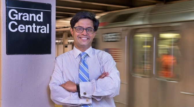 Projjal Dutta – Director, Sustainability Initiatives, NY Metropolitan Transportation Authority