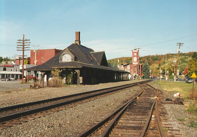 Last Steam Passenger Train In New York State