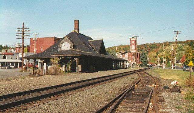 Last Steam Passenger Train In New York State