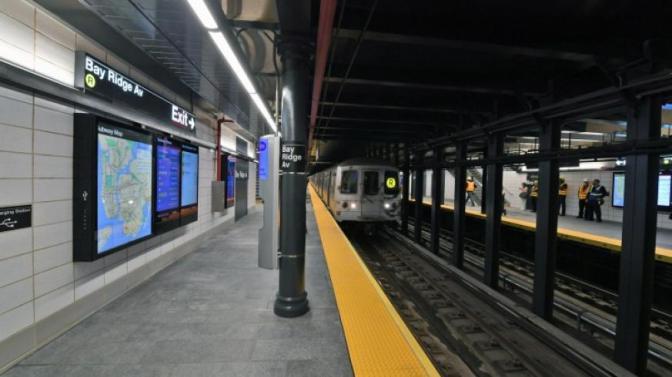 MTA unveils new Bay Ridge Avenue R station