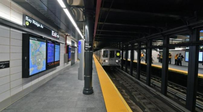 MTA unveils new Bay Ridge Avenue R station