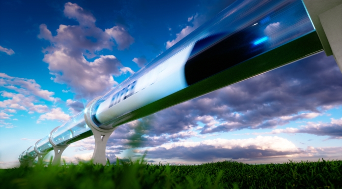 It's likely freight first for hyperloop