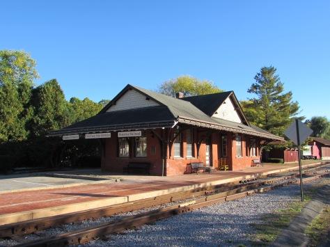 Old Train Station Bellefonte Pennsylvania