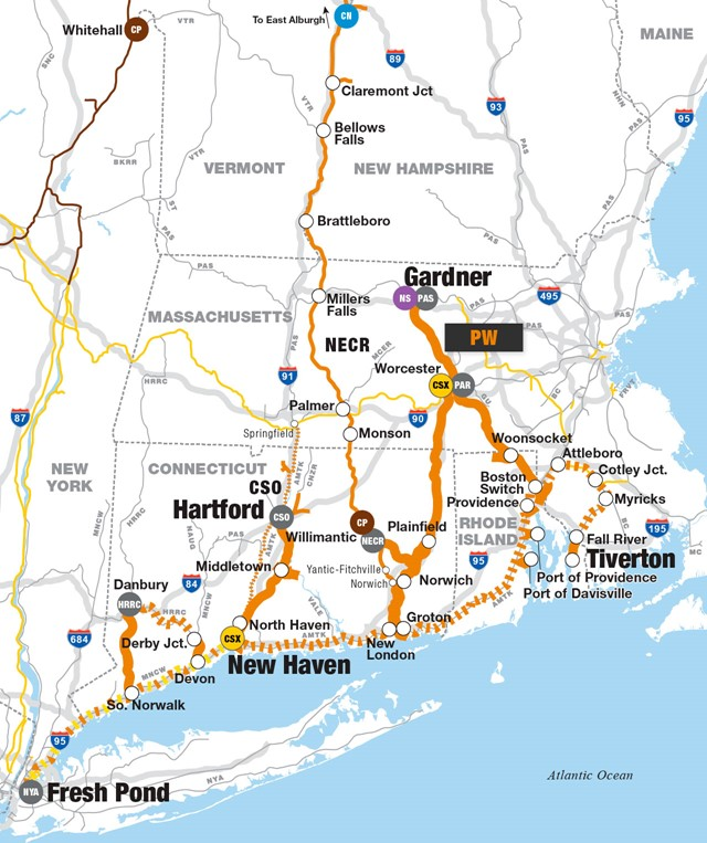 Thoughts On Connecticut Freight Railroads