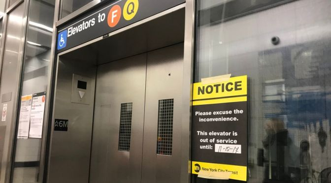 MTA subway elevators break down at alarming rate, advocates say