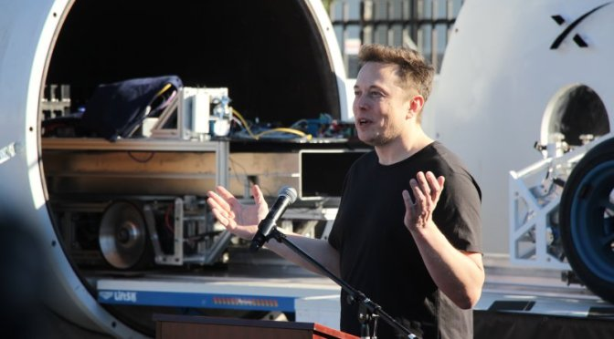 Musk's 'verbal' approval for hyperloop may have been miscommunication