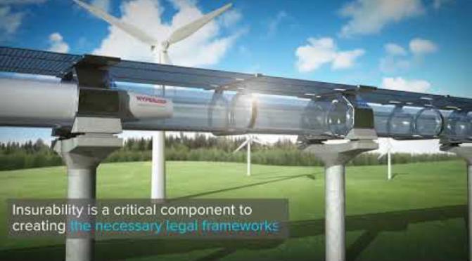 Is Hyperloop Transportation Technology Feasible or Insurable?