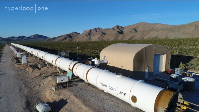 Hyperloop One Plans to Begin Construction Before 2020