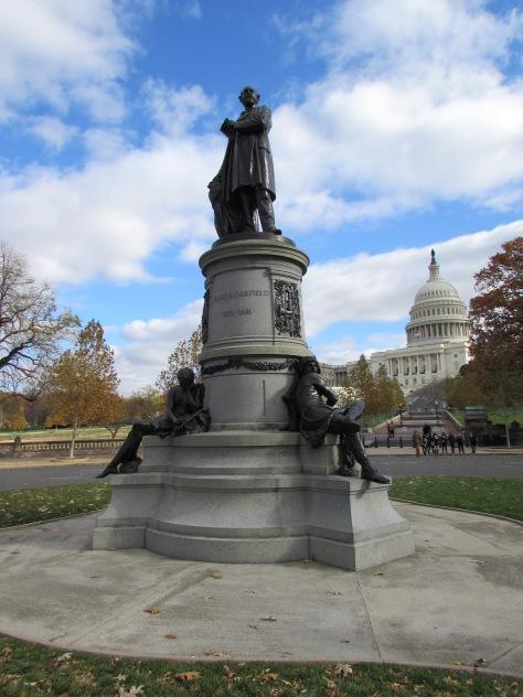 Statue of President Garfield Washington DC
