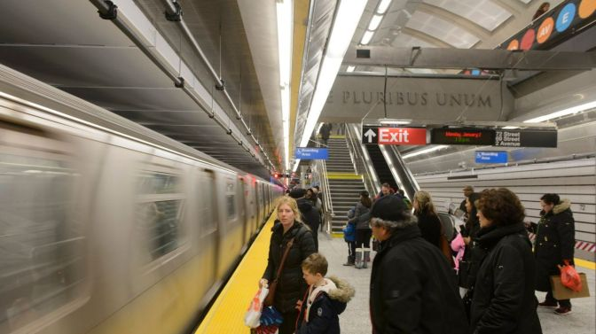 First birthday for the Second Avenue Subway