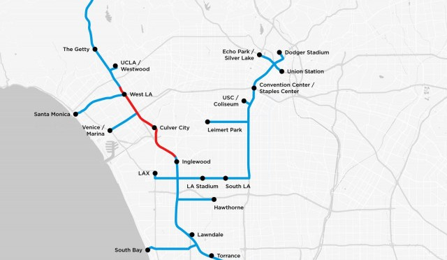 The Boring Company publishes map of proposed tunnels