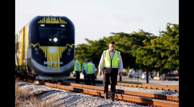 Woman struck and killed by Brightline train during preview run