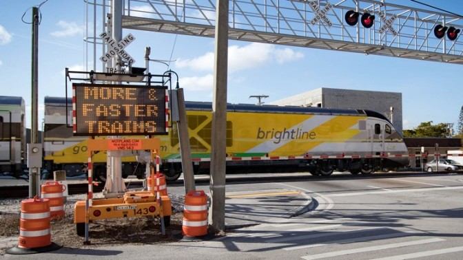 NEW: Brightline adds safety features at crossings
