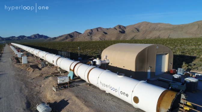 Touring Hyperloop One's ever-evolving test site