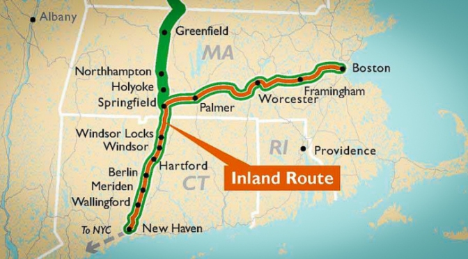 Gov. Malloy Pushes for Inland Route