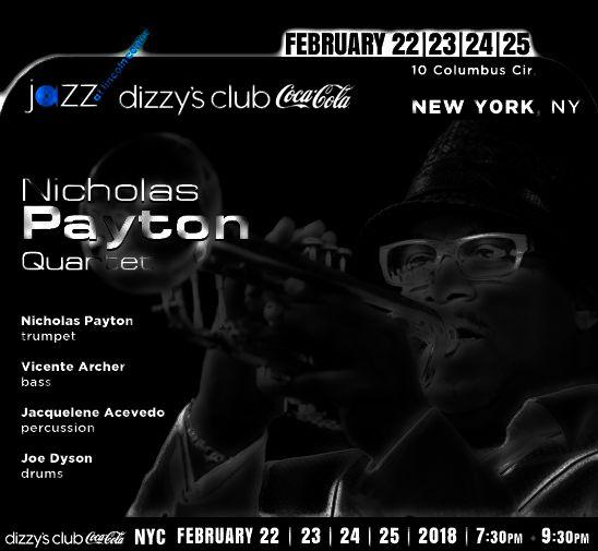 NICHOLAS PAYTON live Dizzy's Club new york