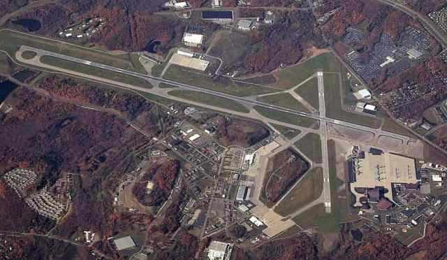 Lear Jet In Trouble Over NJ Lands Safely At Stewart Airport
