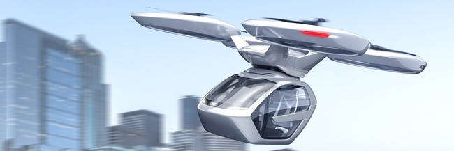 This Audi Flying Car Could Hook Into Hyperloop, and It Looks Great