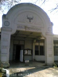 Los Banos camp, university building